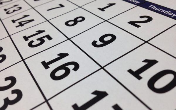 upclose-shot-calendar